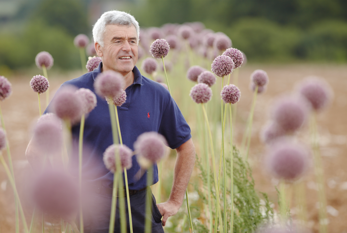 Colin Boswell, The Garlic Farm farmer and founder